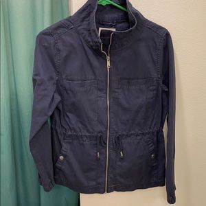 Dark Blue Utility Jacket